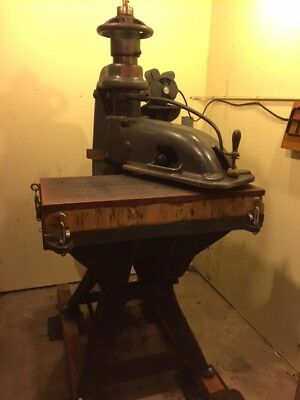 20 ton Clicker Die Press Machine for cutting leather or other materials