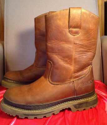 Chinook 'Rancher' (10) brown work boots