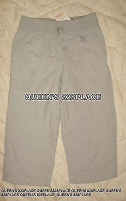 NWT Gymboree Boys 3 3T Gray Active Athletic Lined Pants Twins activewear new
