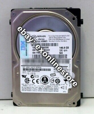 "42D0422 IBM 146GB SAS 10K RPM  42D0421 ST9146802SS 2.5/"" SFF HDD for LS21"