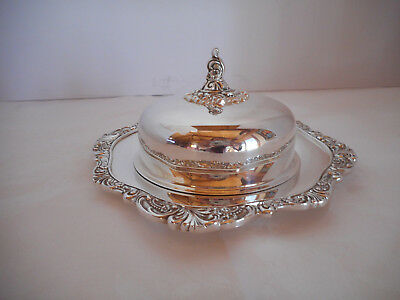 Baroque By Wallace Silver Butter Server