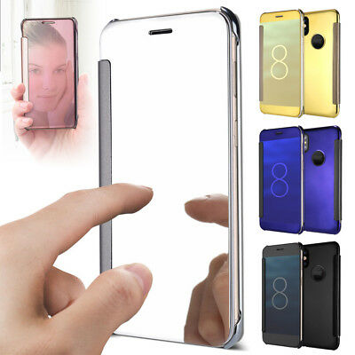 For iPhone X XS Mirror Shine top Luxury Slim Fit Metal Electroplate Plating Case