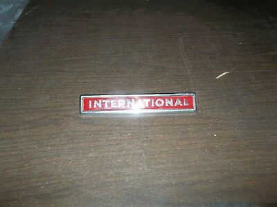 New Old Stock International IH Scout Red Emblem 11810 -1 2754 222 - R1