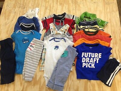 9 Months Carter's Baby Boy Clothes Lot