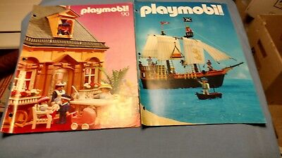 Vintage Playmobile Catalogs- 2 Catalogs from 1990