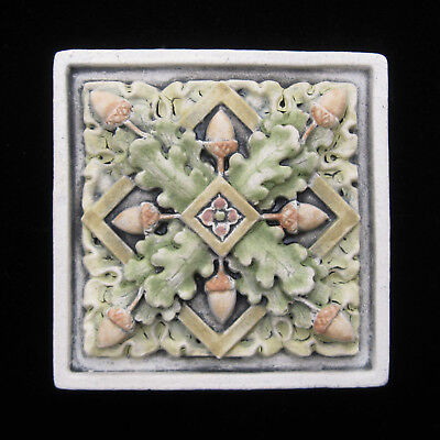 Oak Arts  And Crafts  Gothic Ellison Tile