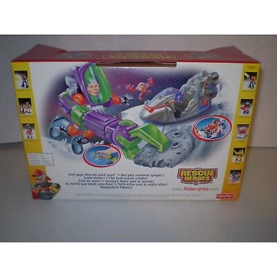 Fisher-Price Rescue Heroes Space Pod Vehicle. Brand New