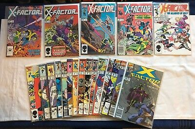 X-factor Lot of 43 All in excellent condition all between 1-96