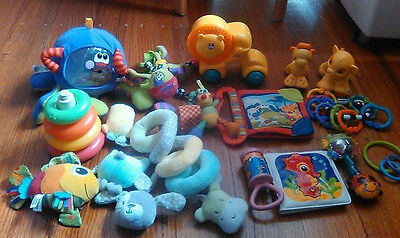 Baby Toys Bulk Collection - Suitable for 0 to 6 (or 9) months