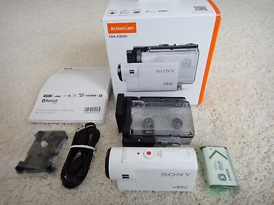 Sony Action Cam  Digital 4K HD Video Camera Recorder FDR-X3000 - Used Once