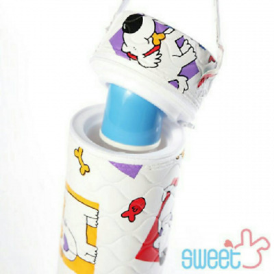 Insulated Single Baby Bottle Bag Storage Hang Warmer Thermal Tote Carrier Bag