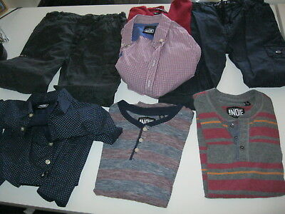 Boys Shirts and Pants (7), designer labels (Industrie), Size 7 and 8