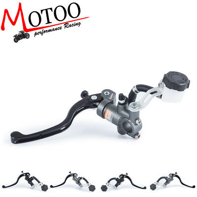 Motorcycle 16X18 Clutch Adelin Master Cylinder Hydraulic Reservoir Lever Left