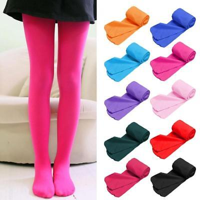 Kids Girls Ballet Dance Opaque Tights Pantyhose Hosiery Stockings Easy to Wear