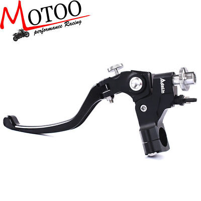 "7/8"" Adelin Motorcycle Front Adjust Clamp Cable Clutch Master Cylinder Lever"