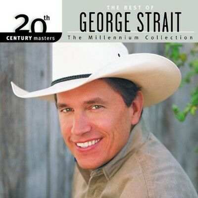 George Strait - Best Of George Strait-Millennium Collection (CD Used Like New)
