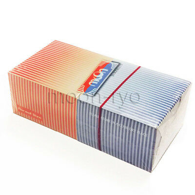 50 Booklets Moon 2 Colors Combo Cigarette Rolling Papers 70*36mm 2500 Leaves
