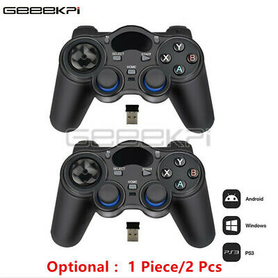 Wireless 2.4GHz Game Controller Gamepad for PS3 Xbox360 TV Box PC Android Phones