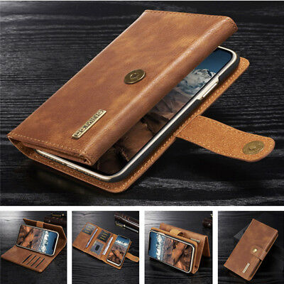 Genuine Leather Wallet Flip Case Cover For iPhone 11 Pro 11 XS MAX XR 8 7 6 Plus