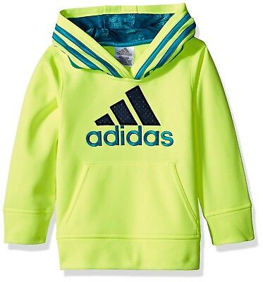 (Little Boys, 5, Solar Yellow) - adidas Boys' Classic Pullover Hoodie