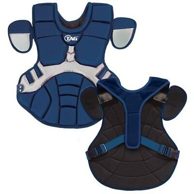 (Navy with Grey) - TAG Pro Series Womens / Teen Body Protector (TBP 702)