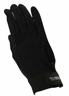 (7, Black) - SSG Hook and loop Wrist Gripper Gloves 7 Black. Shipping is Free