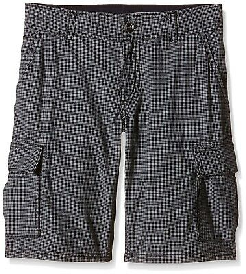 (16 years (176 cm), black - Black AOP) - O 'Neill Complex Cheque Shorts Infant