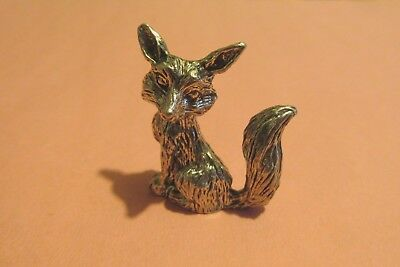 Pewter  Fox Figurine