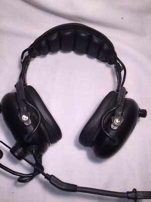 Nighthawk Flightcom 4DLX Headset with Boom Mic -0927C