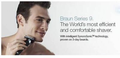 Braun Series 9 - 9095cc shaver Wet&Dry with Clean&Charge Station (BRAND NEW<