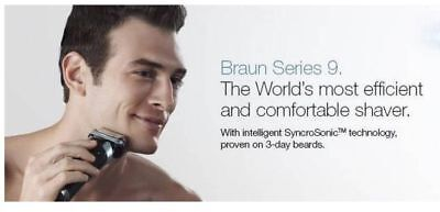 Braun Series 9 - 9095cc shaver Wet&Dry with Clean&Charge Station (BRAND NEW&