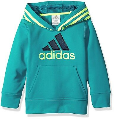 (Toddler Boys, 2T, Tile Blue) - adidas Boys' Classic Pullover Hoodie