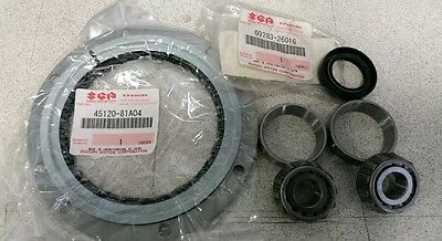 Genuine Suzuki Jimny Kingpin Swivel Hub Bearing & Shaft Seal Set Kit STEERING