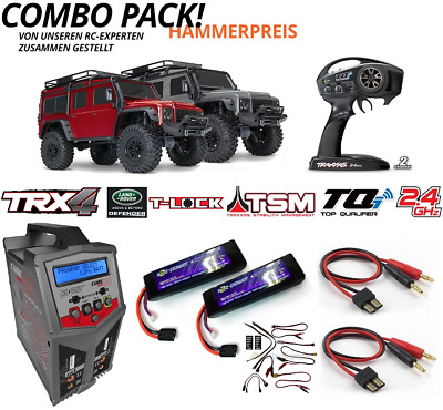 Traxxas Sparset 4 TRX-4 Land Rover Defender 1:10 4WD RTR TRX82056-4