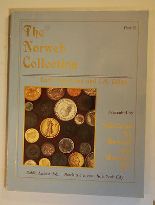 Norwich Collection Part Ii - Bowers And Morena 3-24 & 25-1988 Auction Catalog
