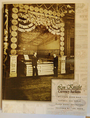 National And World Paper Money Convention - Lyn Knight Currency Auction Catalog