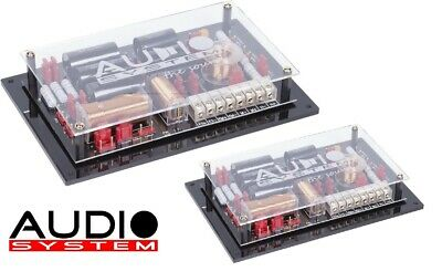 Audio System FW AVALANCHE HIGH END 2 Wege Frequenzweiche 1 Paar