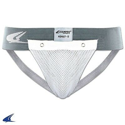 (Large, Na) - CHAMPRO JOCK STRAP ATHLETIC SUPPORTER YOUTH FOR HARD CUP A5 YOUTH