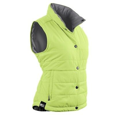 Sun Mountain Alpine Golf Vest 2016 Ladies Lime/Grey Large. Free Shipping