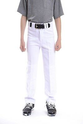 (Large, White) - Exosuit Boy's Youth Baseball Pants. Shipping is Free