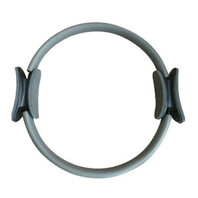 (Gray) - Pilates Ring-NACOLA Thigh Master Toner Exercise Cushioned Foam