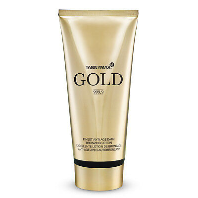 "Tannymaxx ""Gold 999,9"" Finest Anti Age Dark Bronzing Lotion 200 ml Solarkosmetik"