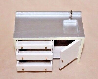 The Dolls House Emporium - 1:12th scale Sink unit with cupboard & draws