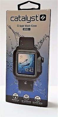 Catalyst - Case and Band for Apple Watch 42mm (SERIES 1) Stealth Black