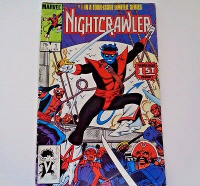 Marvel Comics Nightcrawler # 1 in a four issue limited Vol. 1 No. 1 Nov. 1985