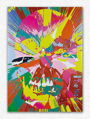 Damien Hirst   Beautiful Hours Spin Painting  84x60 cm  STAMPA TELA CANVAS PRINT