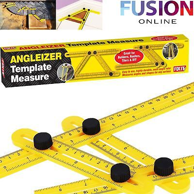 Angle-Izer Ruler Slide Template Four-Sided Measuring Instruments Tool Mechanism
