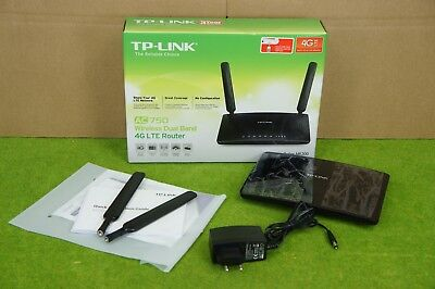 TP-Link Archer MR200 AC750 Wireless Dualband 4G/LTE WLAN-Router