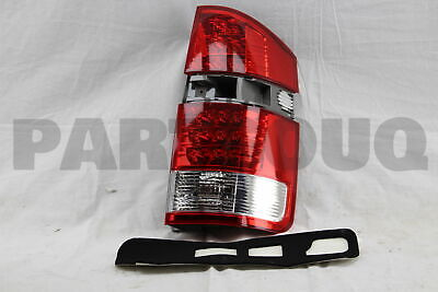 8155128450 Genuine Toyota LENS, REAR COMBINATION LAMP, RH 81551-28450