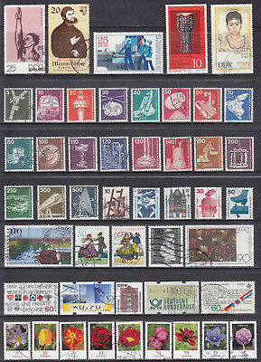 Collection Of GERMANY German Deutschland Bundespost Used Commemorative Stamps